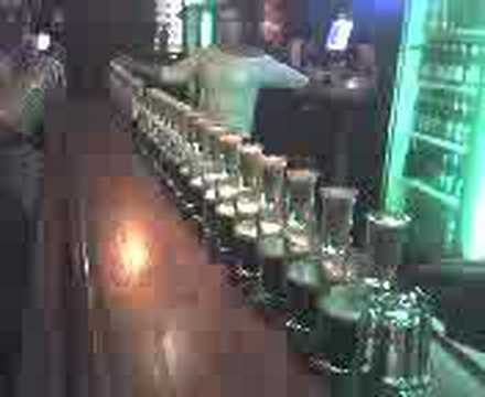 Bar Trick Huge Domino Drop Shot