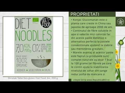 Shirataki Taitei fara gluten Diet Food, bio, 200 g