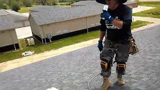 Fastest roofer?