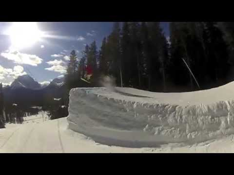 snowboarding banff alberta