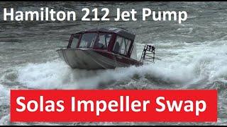 Hamilton 212 Solas Impeller Part 2