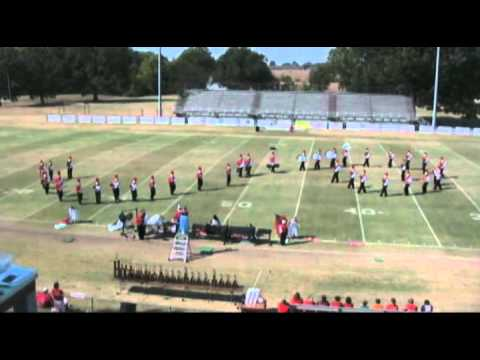 Bartlett High School Marching Band performing at 2010 Crockett County Invitational