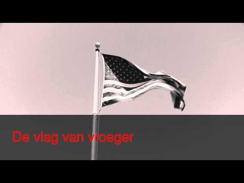 De vlag van Amerika