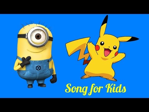 pikachu - Banana - papaya - minions mix- videos for kids