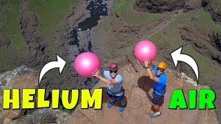 HELIUM VS. AIR Magnus Effect Experiment from 200m! thumbnail