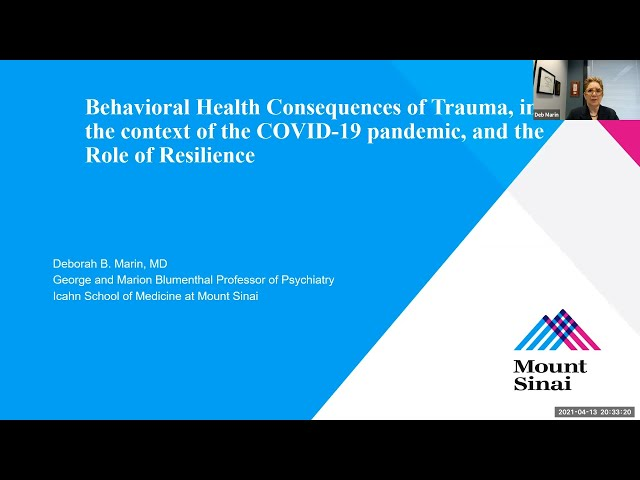 Behavioral Health Consequences of Trauma in the Context of the COVID-19 Pandemic