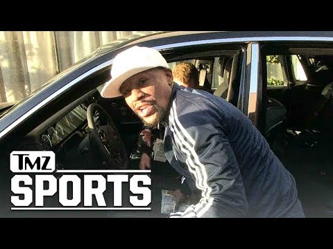 Floyd Mayweather Shows Off his Baller Car Collection | TMZ Sports
