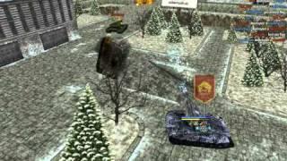 Tanki Online: Russian Winter Theme (free browser arcade game)