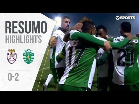 Highlights | Resumo: Feirense 0-2 Sporting (Taça de Portugal 18/19 1/4 Final)