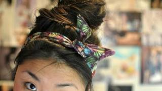 One of Letitia Kiu's most viewed videos: ✂ DIY Wired Headwrap