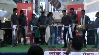 Voters Awareness Nukkad drama Camp Bilaspur Chhattisgarh