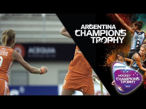 New Zealand vs Netherlands - Women's  Hockey Champions Trophy 2014 Argentina Group A [30/11/2014]