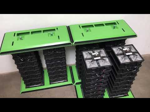 How To Assemble GREENROCK Salt Water Batteries