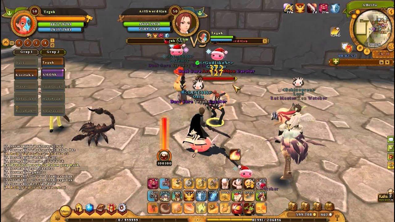 ragnarok online 2 indonesia warrior vs warrior caps 50 wtf