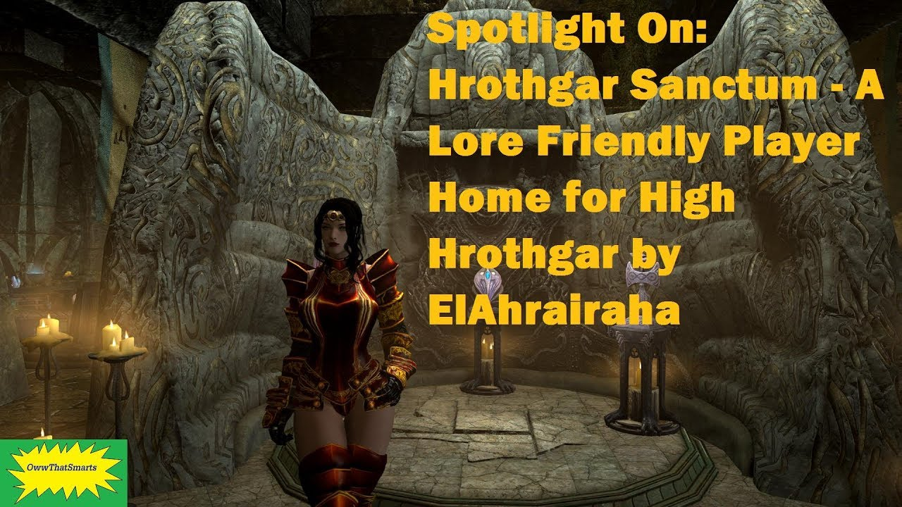 Skyrim (mods) - Faith - Spotlight On: Hrothgar Sanctum - A Player Home for High Hrothgar