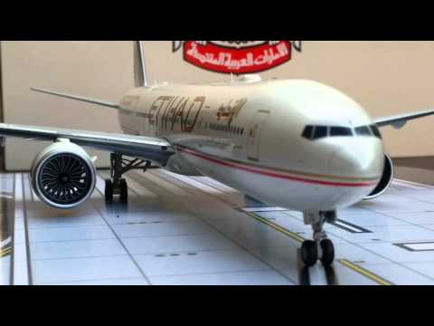 JC Wings 200 Etihad Airways B777-300ER(The Old Livery)Review