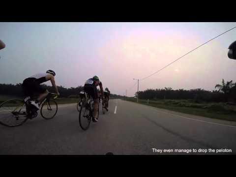 Port Dickson International Triathlon 2015 Race Bike leg - 37Kph/avg
