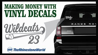 Making Money with Vinyl Car Decals Start To Finish Training Class for your Business