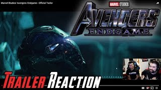Avengers: Endgame Angry Trailer Reaction!