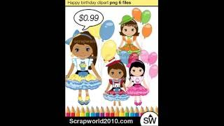 Video Happy Birthday girl clipart holiday clip art download MP3, 3GP, MP4, WEBM, AVI, FLV Juli 2018