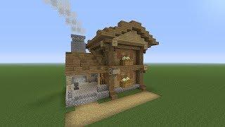 minecraft village blacksmith
