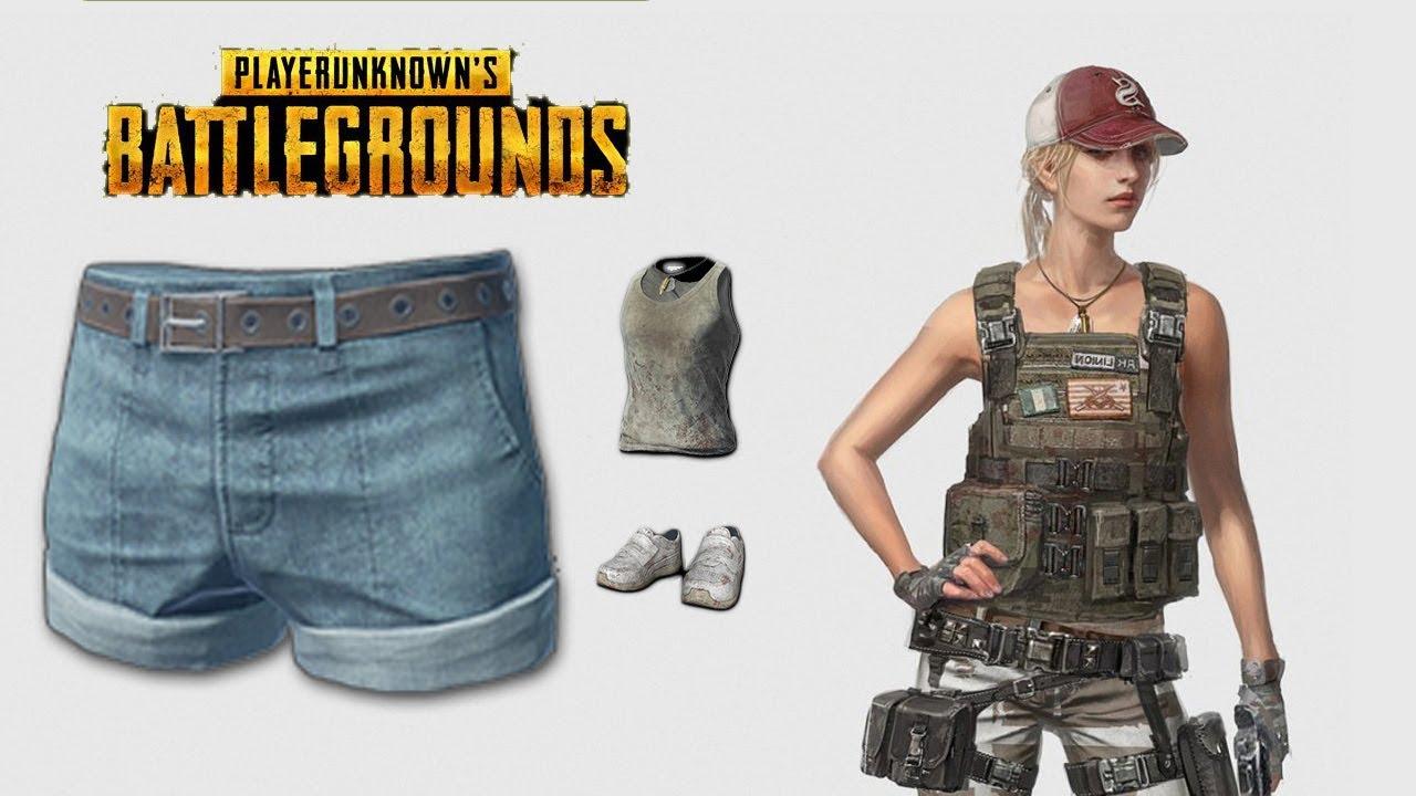 Hotpants Blue Skin PlayerUnknowns Battlegrounds Skins