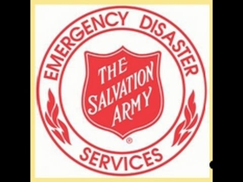 Salvation Army volunteer live on-air radio network