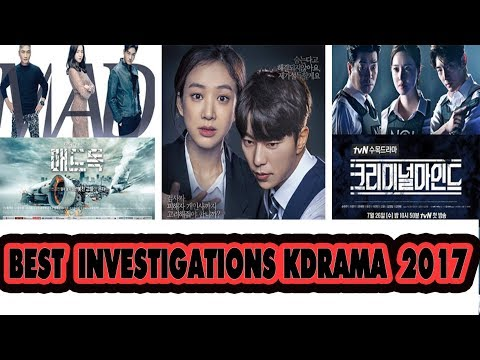 [TOP ]   14 BEST KOREAN INVESTIGATION DRAMAS  2017