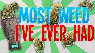 In todays video, I talk about the most weed i've ever had. I hope y...