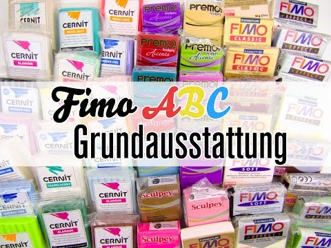 fimo abc g wie grundausstattung f r fimo anf nger youtube. Black Bedroom Furniture Sets. Home Design Ideas