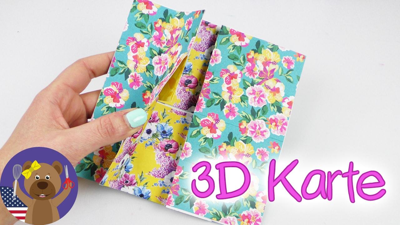 DIY Flipping Card | Cool 3D Birthday Card or Valentine´s ...