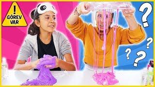 Görevli Slime Challenge Zarftan Ne Çıkarsa Slaym Eğlenceli Çocuk Videosu Dila Kent
