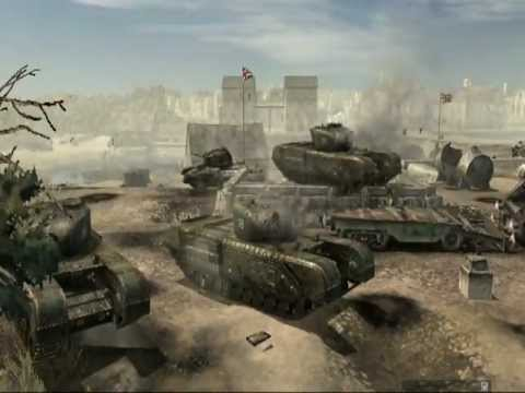 Company of Heroes Music Video - British Armed Forces (Sabaton - In The Army Now)  