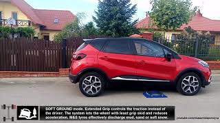 Renault XMOD Extended Grip Control test on rollers - Captur 1.2 TCe EDC