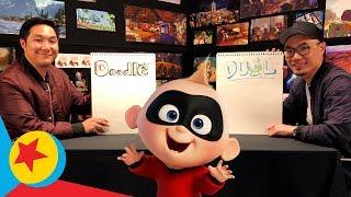 Jack-Jack In the Jungle | Pixar Doodle Duels