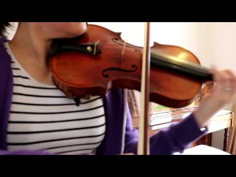 Chinese EBay Violin - first impressions trying out Salut D'Amor by Elgar