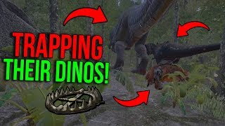 WE TRAPPED THEIR GIGA! - ARK Extinction Official PvP | Ep.4