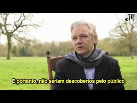 Julian Assange, do Wikileaks - Entrevista exclusiva para a Revista Trip