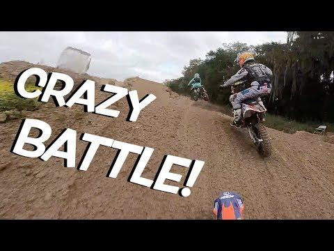 Haiden Deegan Battles For Championship at Mini O's! Gopro Raw Full Race