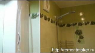 видео Ремонт санузла своими руками: с чего начинается отделка ванной комнаты, смета