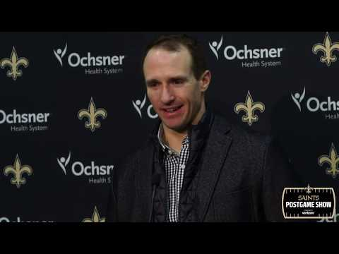 Drew Brees' Postgame Press Conference after Monday Night Football Win vs. Panthers