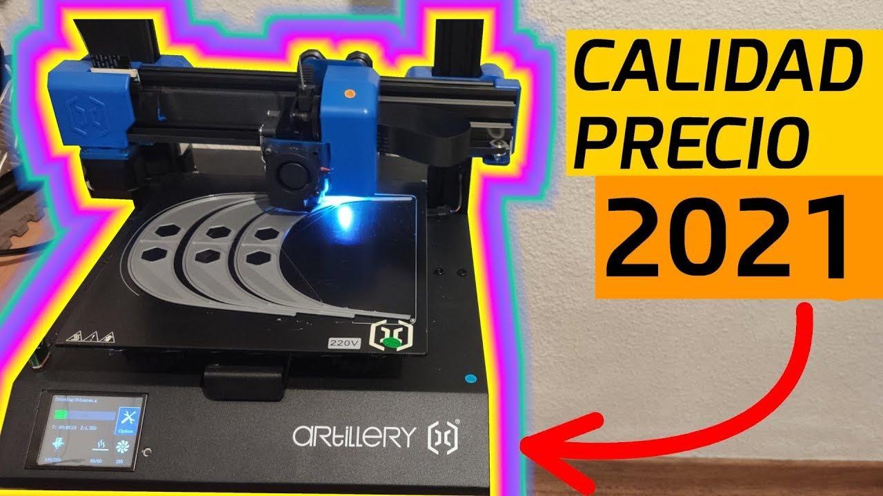 Mejor Impresora 3d 2021 Calidad Precio Artillery Genius Mis Opiniones Youtube