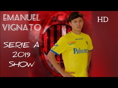 EMANUEL VIGNATO - Welcome to AC Milan - Goal, Assists and skills in Serie A  2018 - 2019