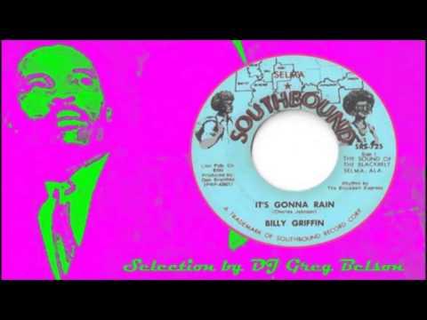 Gospel Soul 45 - Billy Griffin - 'It's gonna rain'