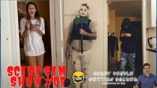 JUMPY PEOPLE GETTING SCARED || SCARE CAM SHOW #08