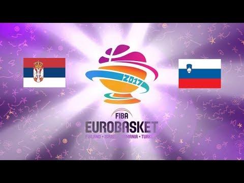 Serbia vs Slovenia - EuroBasket FINAL  2017 HD