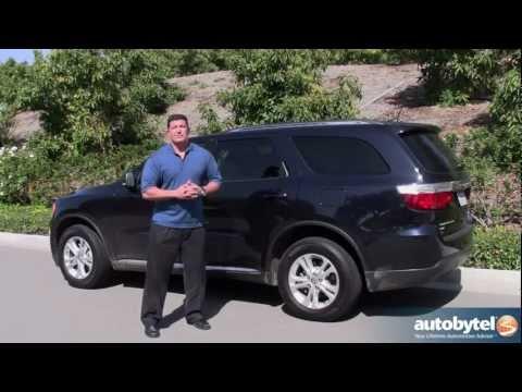 2012 Dodge Durango Road Test & SUV Review