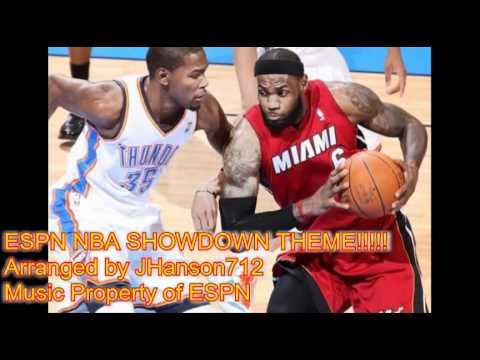 ESPN NBA Playoffs and Finals Showdown Theme, BEST QUALITY NO ANNOUNCERS
