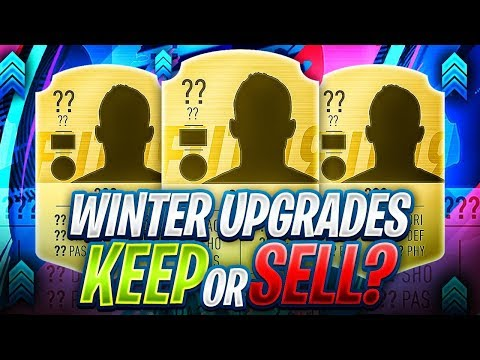 KEEP OR SELL!? WINTER UPGRADES FIFA 19! thumbnail