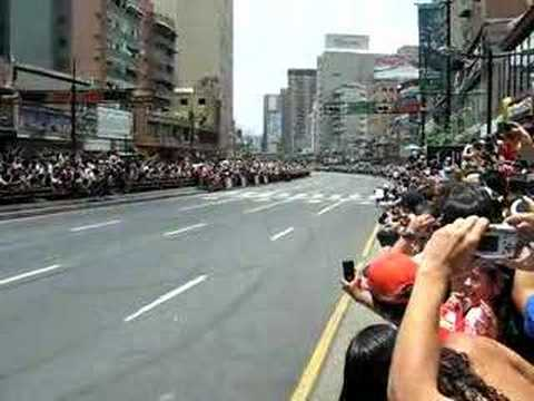 Red Bull F1 Racing Caracas Street Run part 5